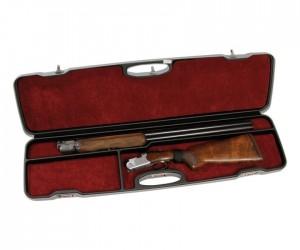 Кейс Negrini для гладкоствольного оружия, Люкс, код. замки, пластик ABS, вельвет, стволы до 940 мм