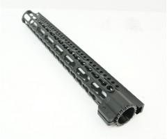 Цевье Keymod M4/AR15/M16 New, стальная гайка, длина 15