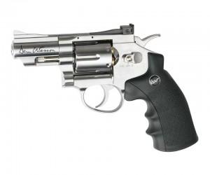 """Пневматический револьвер ASG Dan Wesson 2.5"""" Silver (пулевой)"""