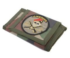 Кошелек Airborne текстиль comufliage