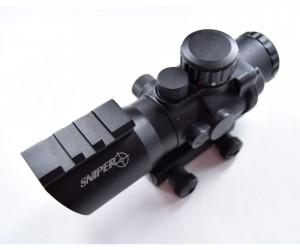 Призматический прицел Sniper 4x32, с подсветкой (PM4x32SB)