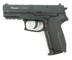Пневматический пистолет Swiss Arms SIG SP2022 Black (металл)