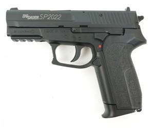 Пневматический пистолет Swiss Arms SIG SP2022 Black (металл)