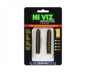 Оптоволоконная мушка HiViz TO400 2 мушки в 1 (ширина планки 8,3 мм - 11,1 мм)