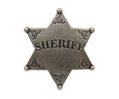Значок звезда Шерифа шестиконечная (DE-101)