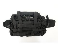 Сумка Remington плечевая с боковыми карманами, черный, 10 л (TL-7054)