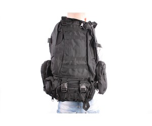 Рюкзак тактический Assault Pack 3-Day 50L Black