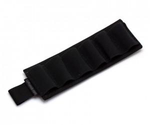 Съёмный патронташ Долг на 6 патронов 12 калибра (черный)