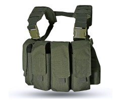 Нагрудная разгрузочная система Wartech Chest Rig MK2 TV-105 олива
