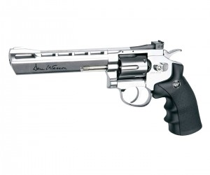 "Пневматический револьвер ASG Dan Wesson 6"" Silver"