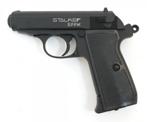 Пневматический пистолет Stalker SPPK (Walther PPK)
