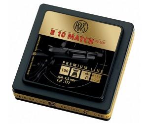 Пули RWS R10 Match Plus Rifle 4,5 мм, 0,53 грамм, 100 штук