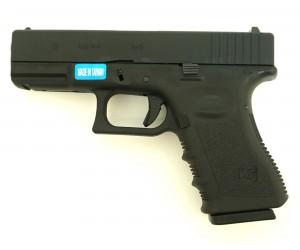 Страйкбольный пистолет WE Glock-19 Gen.3 Black (WE-G003A-BK)