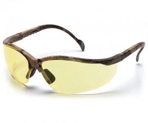 Очки стрелковые Pyramex Venture 2 SH1830S, камуфляж, желтые линзы