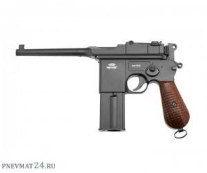 Пневматический пистолет Gletcher M712S BlowBack System