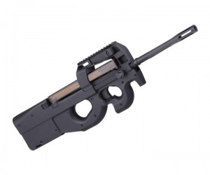 Страйкбольный пистолет-пулемет Cyma FN P90, с удлиненным стволом (CM.060A)