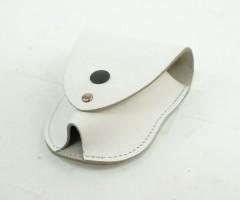 Чехол для наручников «БРС» (кожа, белый)