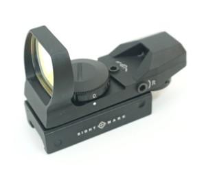 Коллиматорный прицел Sightmark Sure Shot, панорамный, 4 марки, 7 ур. (SM13003B)