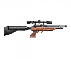 Пневматический пистолет Kral Puncher NP-02 (орех, PCP)