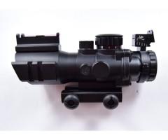 Оптический комплекс (призматический прицел) Sniper 4x32, с подсветкой (PM4x32CB)