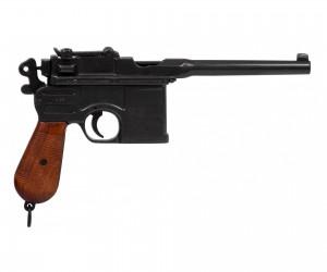 Макет пистолет Mauser C96, дерев. рукоять (Германия, 1896 г.) DE-M-1024