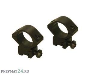 Кольца 25,4 мм Combat 21/25,4/36 на Weaver, высота 36 мм