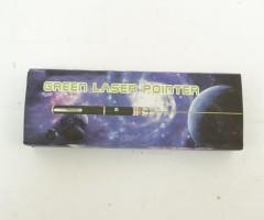 Лазерная указка в виде ручки 8000 mW (зеленый), 1 насадка