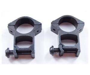 Кольца 25,4 мм на Weaver, высокие, узкие (BH-RS27)