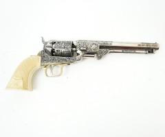 Макет револьвер морского офицера, Кольт, под кость (США, 1851 г.) DE-1040-B