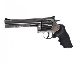 Пневматический револьвер ASG Dan Wesson 715-6 Steel Grey (пулевой)