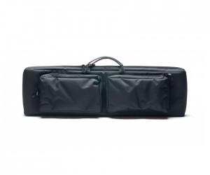 Кейс Vektor из капрона черный с крепл. Molle, 2 карманами и отдел. под магазины (А-9-1 ч)