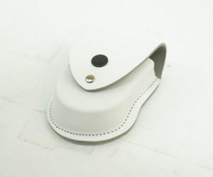 Чехол для наручников «БРС» формованный (кожа) белый