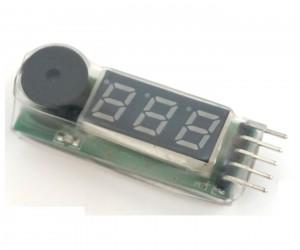 Тестер iPower IPTEST01 для Li-Po / Li-Fe аккумуляторов