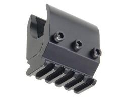 База на ствол Veber Barrel 5 V с планкой Weaver