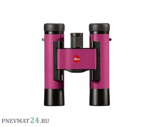 Бинокль Leica Ultravid 10x25 Colorline, cherry-pink