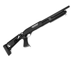 Страйкбольный дробовик Cyma Remington M870 Short, телескоп. приклад (CM.353)