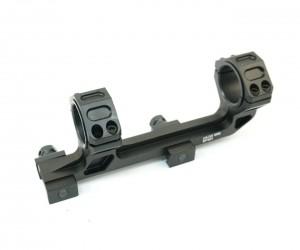 Кронштейн 25/30 мм монолит на Weaver, с выносом, индикатор уровня (BH-MS14)