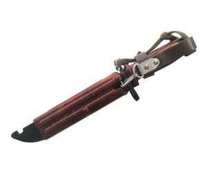 ММГ штык-нож ШНС-001 (АК-74), коричн. ножны и рукоятка, в исполнении «Люкс»