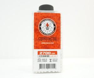 Шары для страйкбола G&G 0,20 г, 2700 штук (белые, бутылка) G-07-215