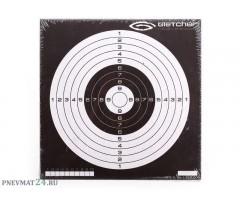 Мишень Gletcher 14x14 инверсная, 50 штук