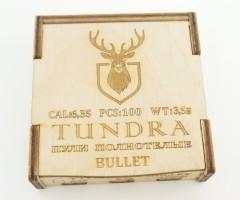 Пули полнотелые Tundra Bullet 6,35 (6,42) мм, 3,5 г (100 штук)