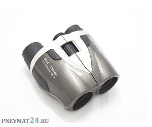 Бинокль Navigator 10-40x28 Compact (серебристо-серый)