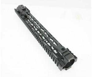 "Цевье Keymod M4/AR15/M16 New, стальная анод. гайка, длина 15"" / 380 мм (BH-MR49)"