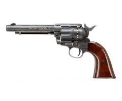 Пневматический револьвер Umarex Colt Single Action Army (SAA) .45 BB Antique (5,5