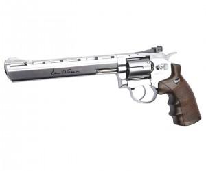 "Пневматический револьвер ASG Dan Wesson 8"" Silver"