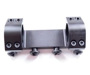 Кронштейн 25,4 мм монолит на Weaver, низкий, 10 см (BH-MS11)