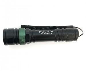 Фонарь Police BL-8351-T6 GREE LED, 3 режима (BH-FL06)