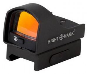 Коллиматорный прицел Sightmark Mini Shot Pro Spec Red, панорамный, 5 ур. (SM26003)
