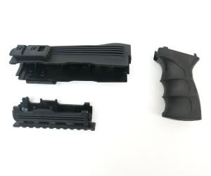 Тактический обвес (цевье с накладкой, пистолетная рукоятка) Cyma на АК-47 (C.49)