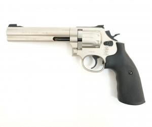 """Пневматический револьвер Umarex Smith & Wesson 686 6"""" Nickel"""